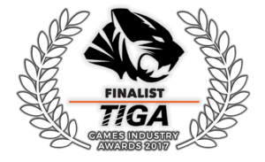 TIGA Games Industry Awards Finalist 2017