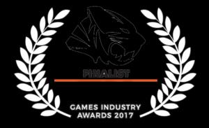 TIGA Games Industry Awards Finalist 2017
